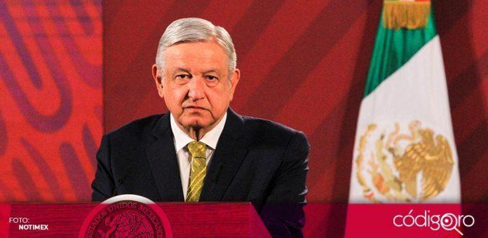 """López Obrador, aseguró que la iniciativa de reforma que alista al Congreso en materia de pensiones, """"no es para meter miedo"""""""