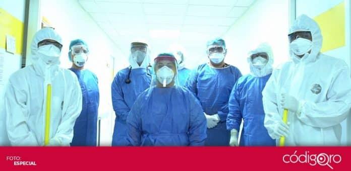 Suman más de ocho mil trabajadores de la salud infectados por COVID-19