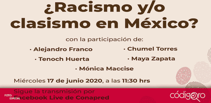 """El Conapred decidió cancelar el foro """"Racismo y/o Clasismo en México, luego de las críticas por invitar al Youtuber, Chumel Torres, """"no es el momento para realizar un foro como el que se diseñó y hemos decidido cancelarlo y discutir al respecto"""", señaló el consejo"""