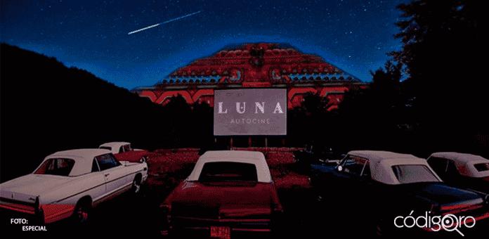 LUNA Autocine es el nuevo autocinema que tendrá Teotihuacán, estará ubicado a tan sólo 500 metros de la pirámide de la Luna