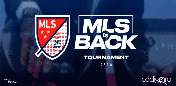 La Major League Soccer (MLS) de Estados Unidos, anunció este miércoles que retomará su temporada 2020 el 8 de julio