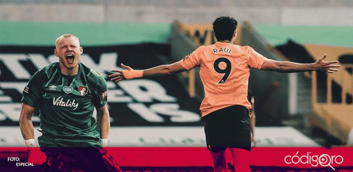 Raúl Jiménez le dio el triunfo al Wolves con un gol al minuto 60, este el gol número 15 del mexicano en la Premier League