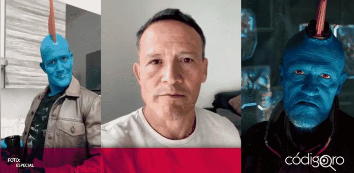 """El """"Matador"""" se hizo viral en redes sociales, luego de publicar un video en el que se caracterizó de """"Yondu"""" personaje de la película """"Guardianes de la Galaxia"""""""