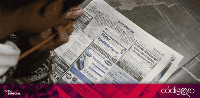 La pandemia por COVID-19 en México ha dejado a un millón 113 mil 677 personas sin empleo