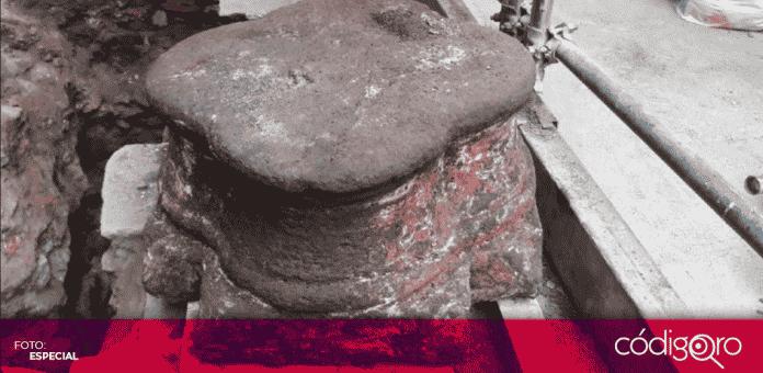 El INAH dio a conocer que los vestigios que hallaron en 2017 y 2018 en trabajos de remodelación del Nacional Monte de Piedad corresponden a palacios de Axayácatl y Hernán Cortés