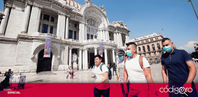 el gobierno de la Ciudad de México, decidió colocar a 34 colonias en semáforo rojo de alerta epidemiológica