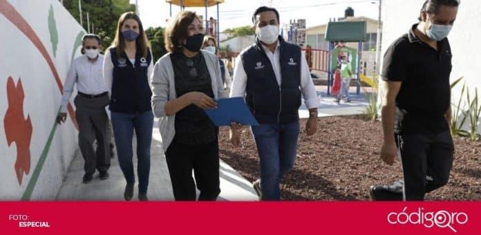 El municipio de Querétaro lanzó la convocatoria del Programa de Dignificación de Condominios. Foto: Especial