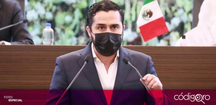 El diputado local panista, Agustín Dorantes Lámbarri, presentó su Segundo Informe de Actividades. Foto: Especial