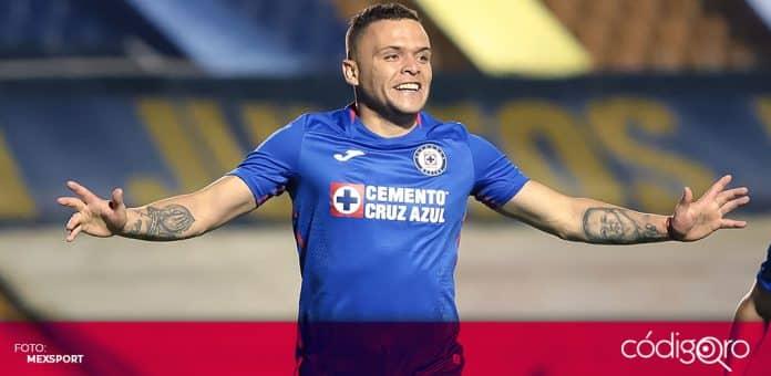 Cruz Azul dominó 3-1 a los Tigres de la UANL en el juego de ida de los cuartos final del Torneo Guard1anes 2020. Foto: Mexsport