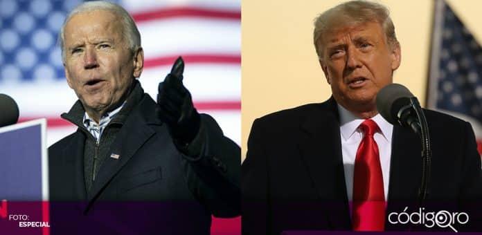 Disputada contienda electoral en Estados Unidos entre Joe Biden y Donald Trump. Foto: Especial