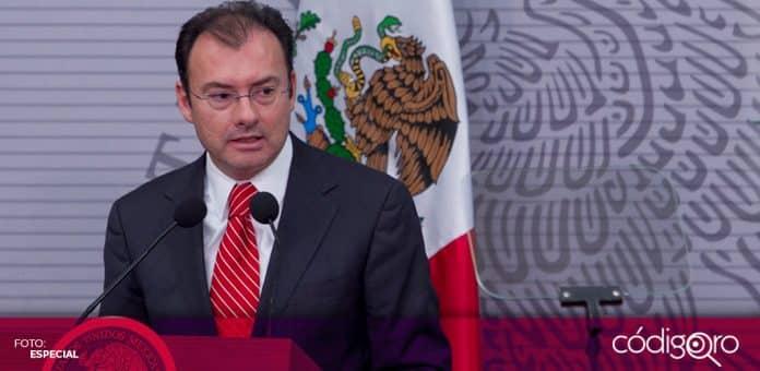 La FGR rechazó la versión de que un juez federal se negó a emitir una orden de aprehensión contra Luis Videgaray. Foto: Especial