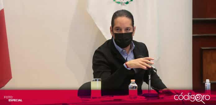 El gobernador de Querétaro, Francisco Domínguez Servién, se reunió con los presidentes municipales para analizar la respuesta ante la pandemia. Foto: Especial