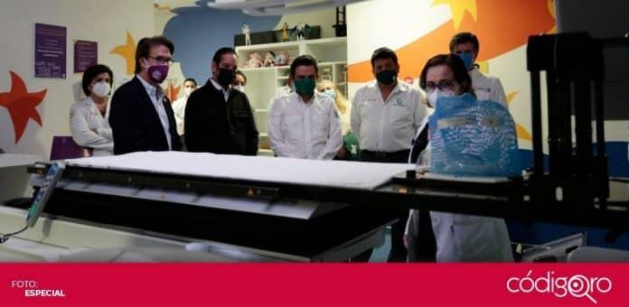 El IMSS y Fundación Teletón firmaron un convenio de colaboración para atender a niños con cáncer en el HITO. Foto: Especial