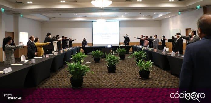 El Consejo Local del INE en Querétaro se instaló de cara al proceso electoral de 2021. Foto: Especial