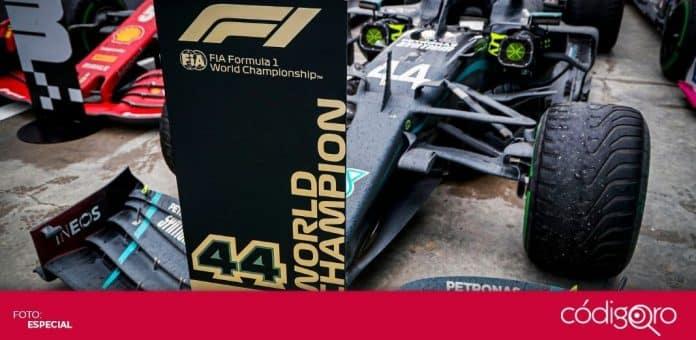 El piloto británico de Mercedes, Lewis Hamilton, sumó su séptimo campeonato de la Fórmula 1. Foto: Cortesía Mercedes AMG F1