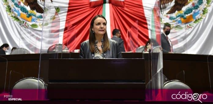 La diputada federal del PAN, Ana Paola López Birlain, advirtió que las mujeres son las más afectadas por los recortes presupuestales federales. Foto: Especial