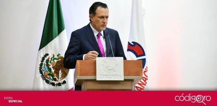 El senador panista Mauricio Kuri González recibió el
