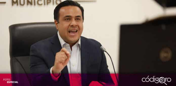 El presidente municipal de Querétaro, Luis Bernardo Nava Guerrero, hizo un llamado al respeto del federalismo. Foto: Especial