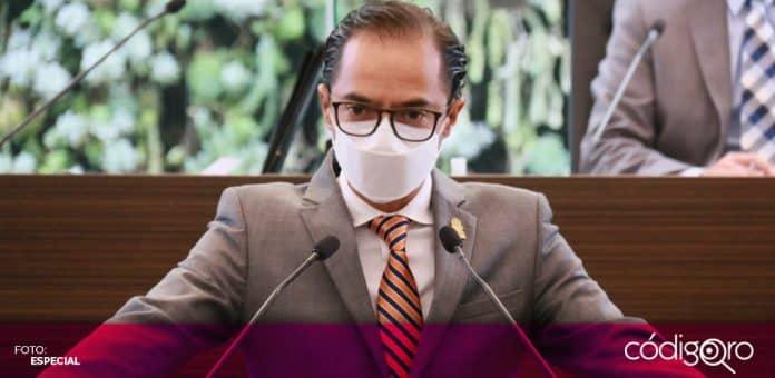 El legislador local Miguel Ángel Torres Olguín reafirmó que el PAN rechaza la legalización de la marihuana. Foto: Especial
