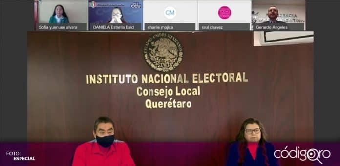 Legisladores infantiles presentaron la Declaratoria del Parlamento Virtual de las Niñas y los Niños de México. Foto: Especial