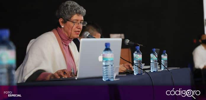 La rectora de la UAQ, Teresa García Gasca, lamentó la desaparición de fondos concursables. Foto: Especial