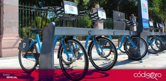 El sistema de bicicletas compartidas Qrobici seguirá siendo gratuito hasta el 31 de diciembre próximo. Foto: Especial