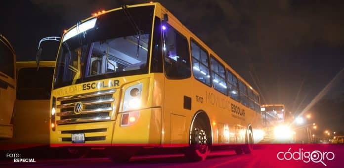 Alcaldes de México premió al municipio de Querétaro por el Transporte Escolar Gratuito. Foto: Especial