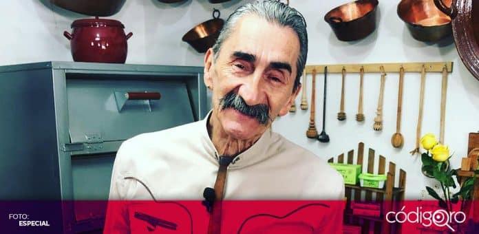 El chef Yuri de Gortari, una de las máximas figuras de la cocina tradicional mexicana, murió a los 69 años de edad. Foto: Especial