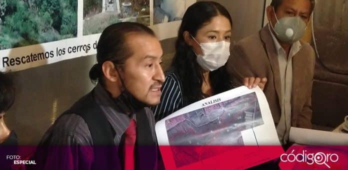 Un grupo de ciudadanos denunciaron daño ambiental y ecológico por la construcción de una barda en La Cañada. Foto: Especial