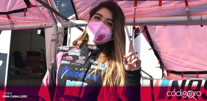 Regina Sirvent es uno de los prospectos más interesantes del automovilismo mexicano. Foto: Irma Caballero