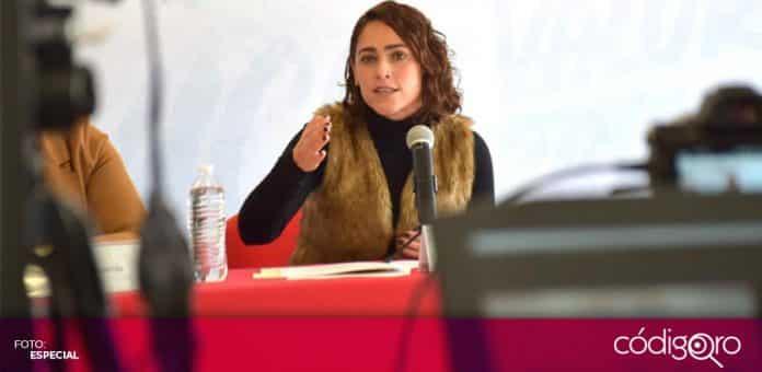 La diputada local priista, Abigail Arredondo Ramos, propuso reformar el Código Urbano del Estado de Querétaro. Foto: Especial