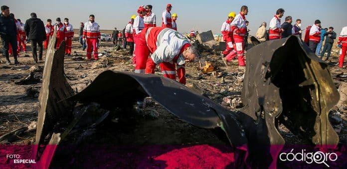 Iran entregará 150 mil dólares a las familias de todas las víctimas del avión ucraniano derribado en Teherán. Foto: Especial