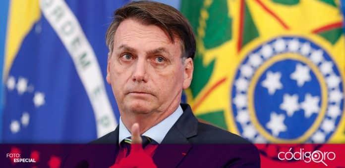 El presidente de Brasil, Jair Bolsonaro, rechazó la legalización del aborto en Argentina. Foto: Especial
