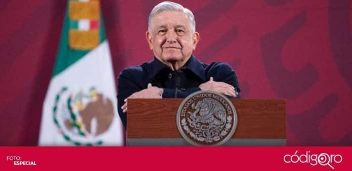 El presidente de México, Andrés Manuel López Obrador, hizo un reconocimiento al personal de salud. Foto: Especial