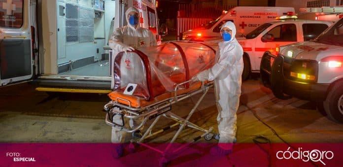 México inicia febrero con 159 mil 100 fallecimientos por Covid-19