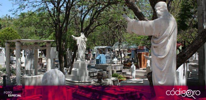 La administración municipal de Querétaro ha emitido 409 permisos de exhumación y 339 permisos de cremación. Foto: Especial