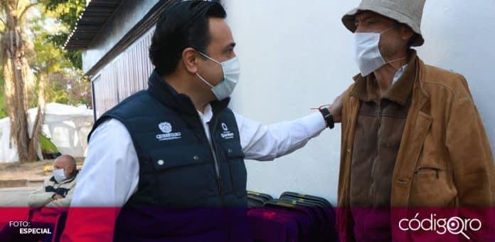 El presidente municipal de Querétaro, Luis Bernardo Nava Guerrero, destacó los programas de apoyo por la pandemia de COVID-19. Foto: Especial