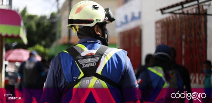 Autoridades municipales de Querétaro supervisan la aplicación de nuevas medidas sanitarias. Foto: Especial
