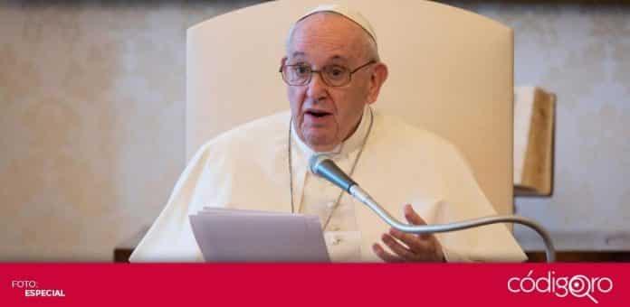 El papa Francisco canceló una tradicional ceremonia prenavideña, que se celebra cada año el 8 de diciembre desde 1953. Foto: Especial