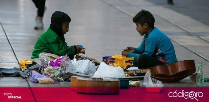 Save the Children advirtió que 3.8 millones de menores de edad caerán en la pobreza en México, debido a la pandemia. Foto: Especial