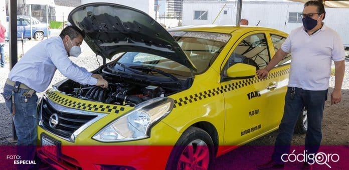 Taxistas tienen hasta el 18 de diciembre para acceder a descuentos de 99% en Refrendo 2020. Foto: Especial