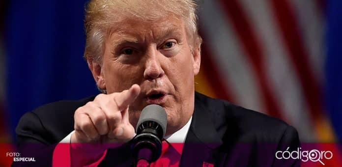 El presidente de Estados Unidos, Donald Trump, dejó entrever sus intenciones de volver a ser candidato presidencial en 2024. Foto: Especial