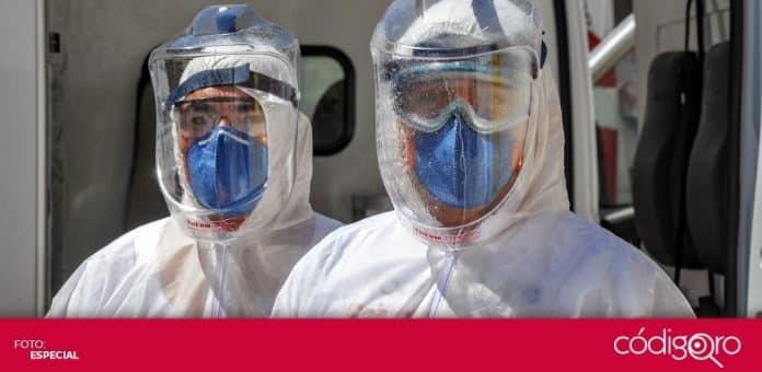Querétaro con 45 mil 484 casos de COVID-19