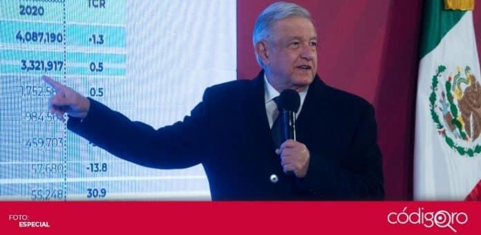 El presidente de México, Andrés Manuel López Obrador, previó que en marzo todos los adultos mayores estarán vacunados contra COVID-19. Foto: Especial