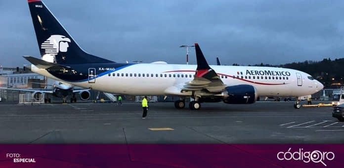 Aeroméxico solicitó dar por terminados los contratos colectivos con los sindicatos de pilotos y de sobrecargos. Foto: Especial