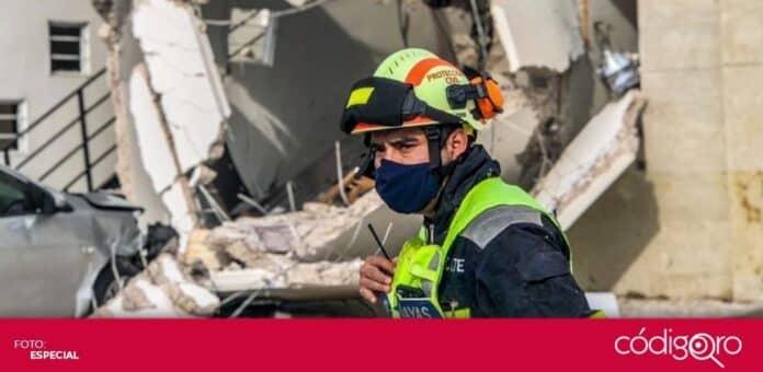La administración municipal de El Marqués anunció apoyos para las familias afectadas por la explosión. Foto: Especial