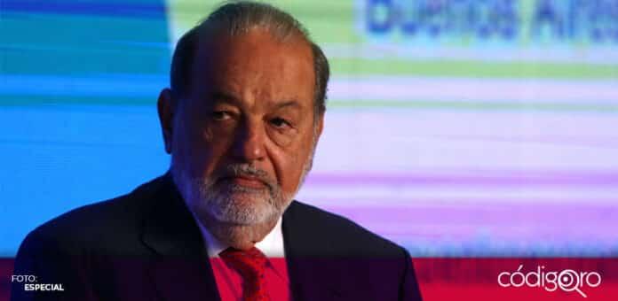 El empresario mexicano Carlos Slim Helú padece COVID-19 con síntomas leves desde hace más de una semana. Foto: Especial