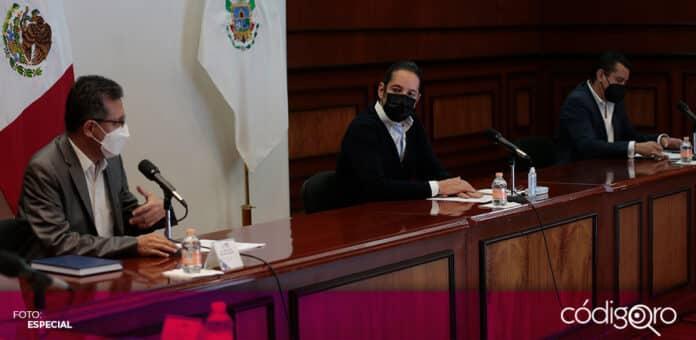 El Consejo Estatal de Vacunación de Querétaro realizó la primera sesión extraordinaria de 2020. Foto: Especial