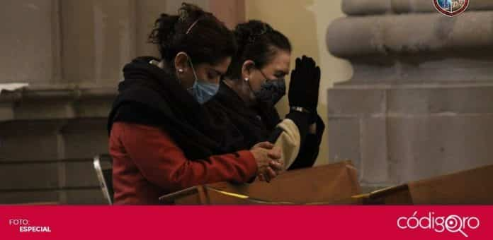 El vicario de la Diócesis de Querétaro, Martín Lara Becerril, pidió que la población siga cumpliendo las medidas sanitarias. Foto: Especial