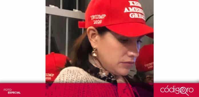 La diputada local independiente, Elsa Méndez, es una de las principales seguidoras de Donald Trump en México. Foto: Especial